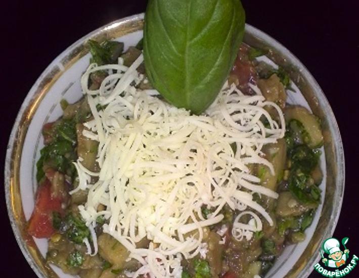Рецепт: Баклажановый салатик