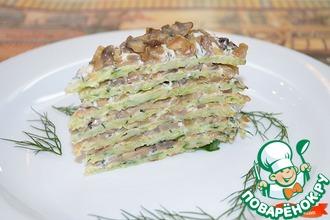 Рецепт: Торт с грибами