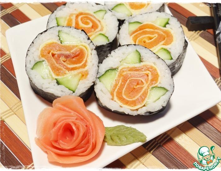 суши роллы пошаговые рецепты поваренок