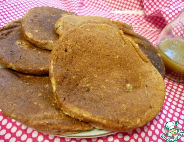 Рецепт: Оладьи Полезный завтрак
