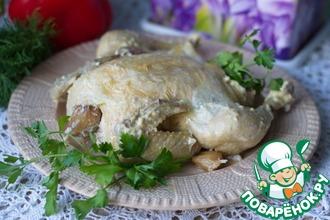 Рецепт: Запеченная курица от Джейми Оливера в мультиварке