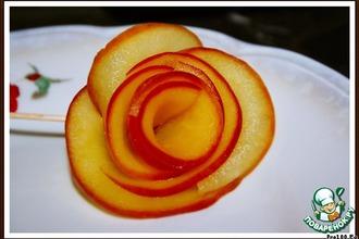 Рецепт: Яблочные розы