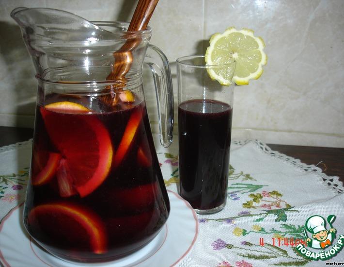 Сангрия – кулинарный рецепт