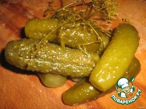 Rustic pickles
