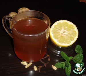 Ginger teas and drinks