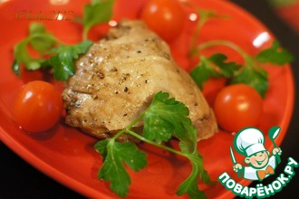 Рецепт: Курица в гранатовом соке