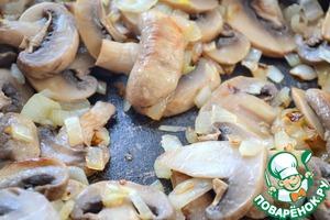 Грибной пирог под сырной заливкой – кулинарный рецепт