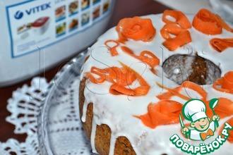 Рецепт: Морковная ромовая баба в мультиварке