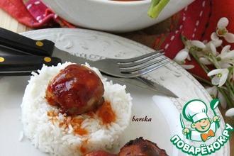 Рецепт: Маффины-барбекю из куриных бёдрышек