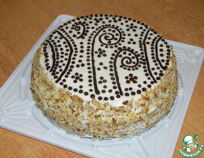 Рецепт: Торт Студенческий