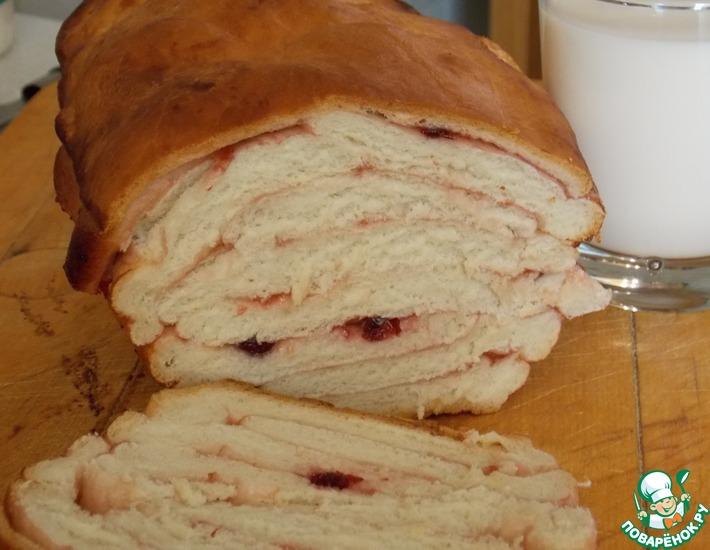 Рецепт: Мраморный пирог