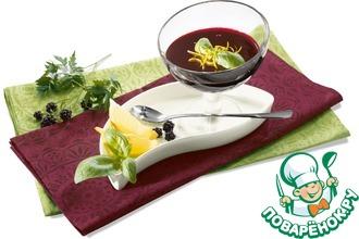 Рецепт: Ежевично-базиликовый мармелад