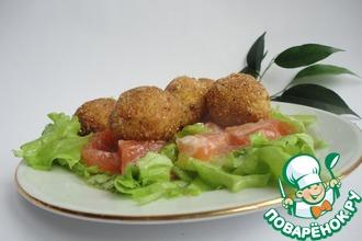 Рецепт: Салат с перепелиными яйцами