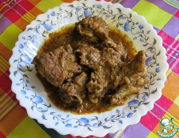 Рецепт: Мясо по-индо-пакистански Ачар гошт