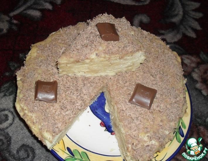 Рецепт: Торт Крошка на пиве
