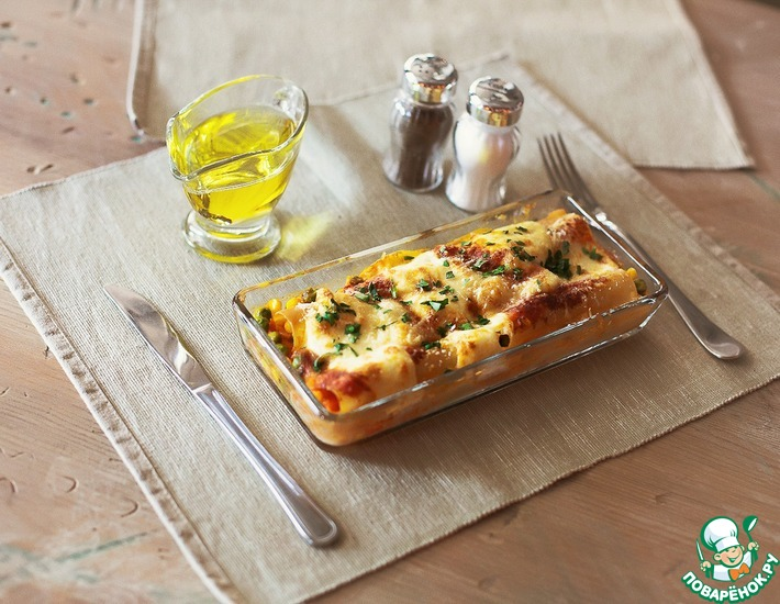 Рецепт: Каннеллони Италия-Мексика
