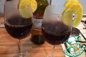 Рецепт: Глинтвейн из красного вина