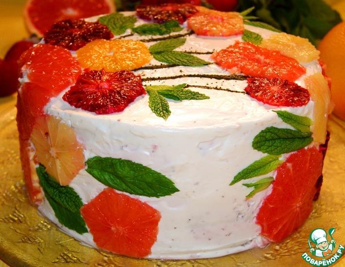Рецепт: Торт Любимым женщинам
