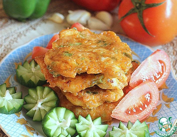 Рецепт: Котлеты куриные с сыром в мультиварке