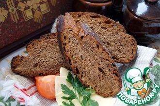 Рецепт: Швабский хлеб с семечками и сухофруктами