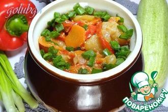 Рецепт: Картофель в горшочках