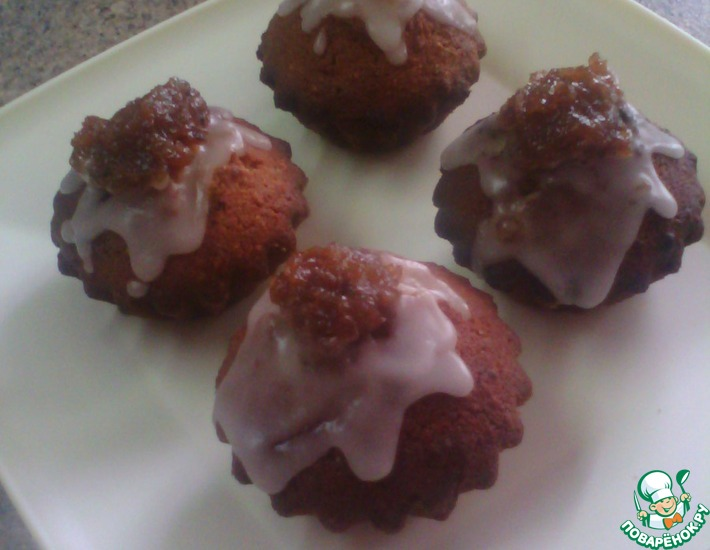 Рецепт: Финское пирожное Рунеберг
