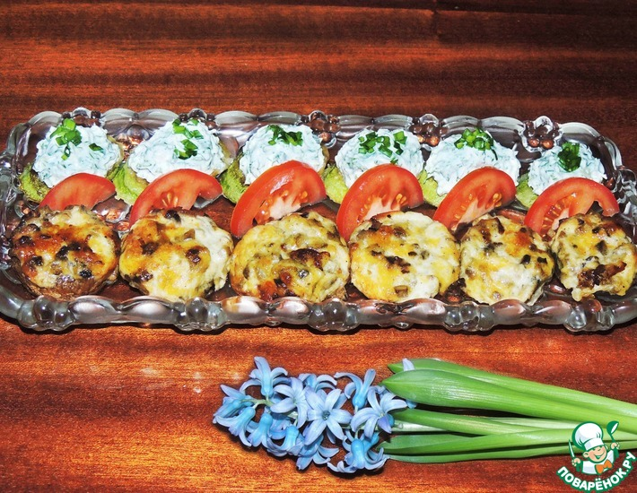 Рецепт: Овощные закуски Spring parade №2