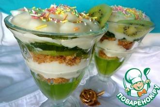 Рецепт: Десерт Волшебная весна