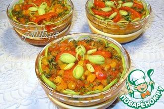 Рецепт: Картофельные котлеты с овощным соусом