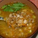 Тосканский суп из смеси бобовых в мультиварке