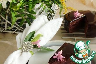 Рецепт: Малиновый Захер торт