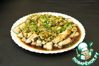 Рецепт: Баклажаны на пару по-сычуаньски. 蒸茄子