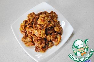 Рецепт: Острая корейская закуска из молок