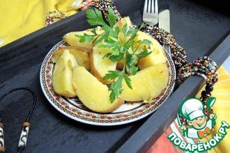 Рецепт: Жареный картофель Весна в Марокко