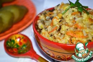 Porridge monastery in a slow cooker