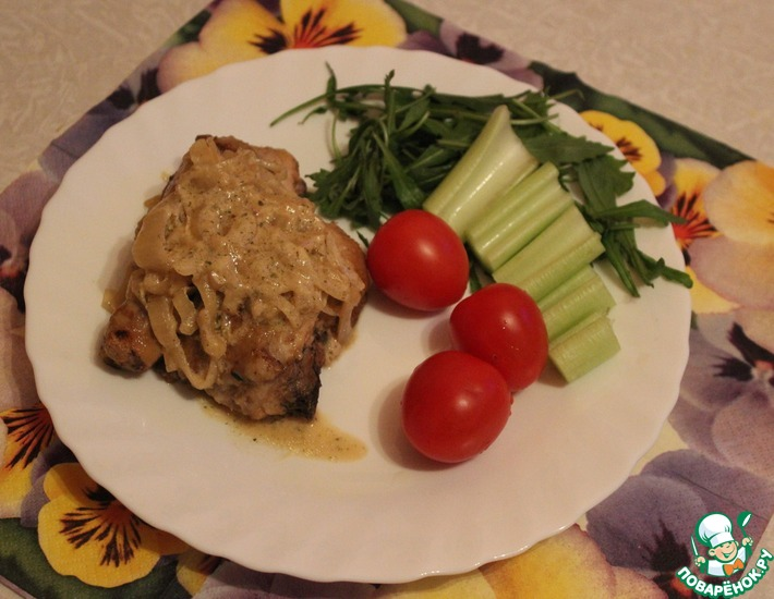Рецепт: Курица в горчице