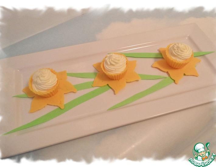 Рецепт: Десерт Нарциссы