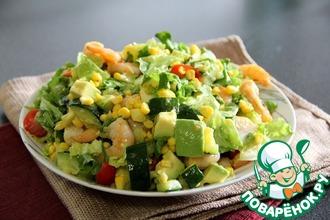 Рецепт: Салат Калифорния