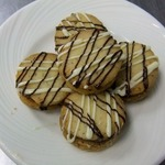 Песочное мини-печенье Ореховая роща