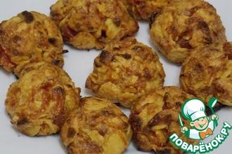 Рецепт: Печенье из кукурузных хлопьев