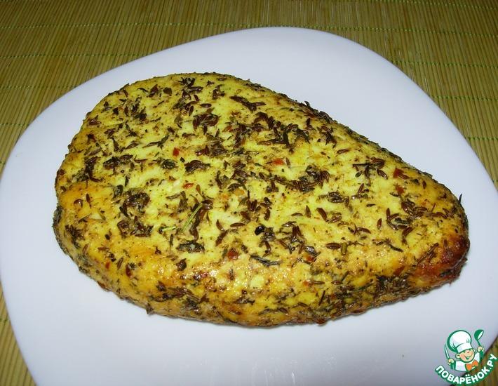 Рецепт: Запеченный творожный сыр