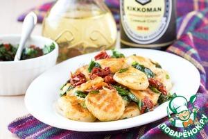 Рецепт: Картофельные ньокки со шпинатом