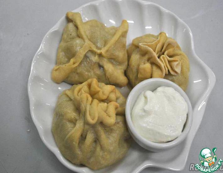 Рецепт: Манты-Мамонты