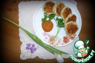 Рецепт: Овощные котлеты Фасолька