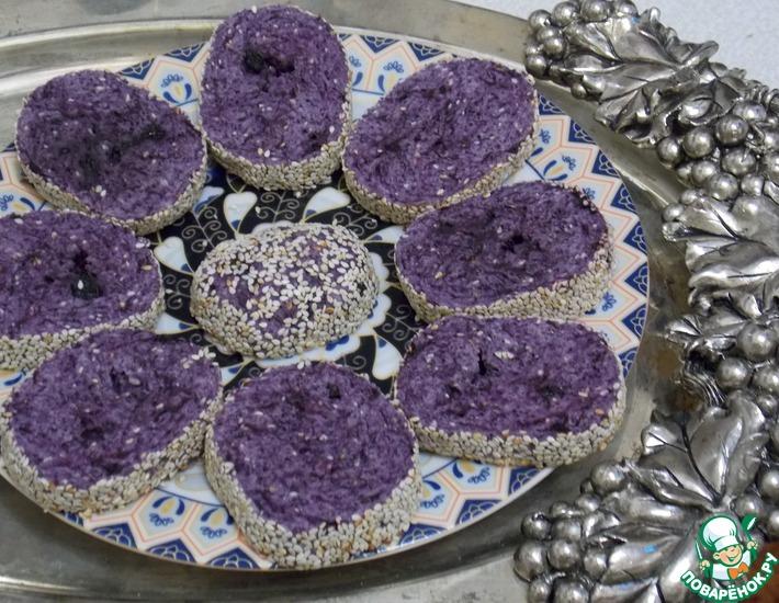 Рецепт: Черничное печенье