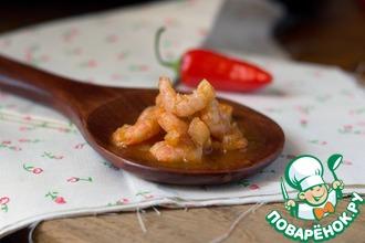Рецепт: Креветки в томатном соусе