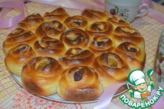 Рецепт: Пирог Ягодная мозаика