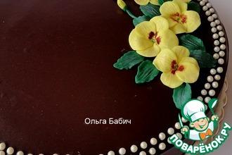 Рецепт: Торт Кофейно-медовый