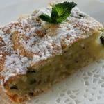 Итальянский влажный пирог с цуккини
