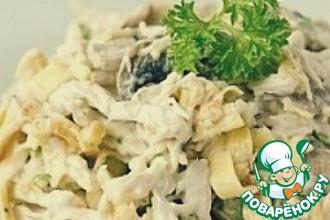 Рецепт: Вкусный и сытный белковый салат